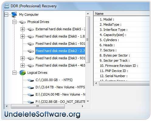 Windows 7 Undelete Program 4.0.1.6 full